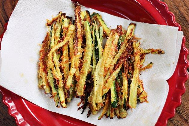 Matchstick Zucchini Fries WeeklyBite