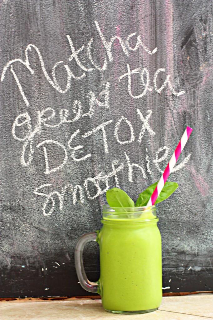 Green tea smoothie4