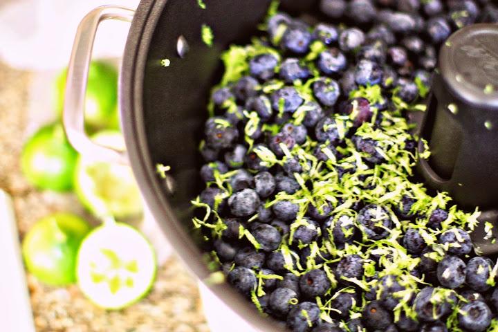 blueberry lime jam