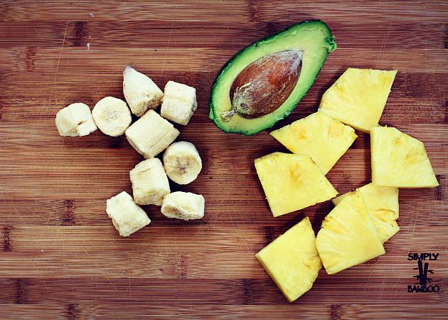 pineapple avocado smoothie2