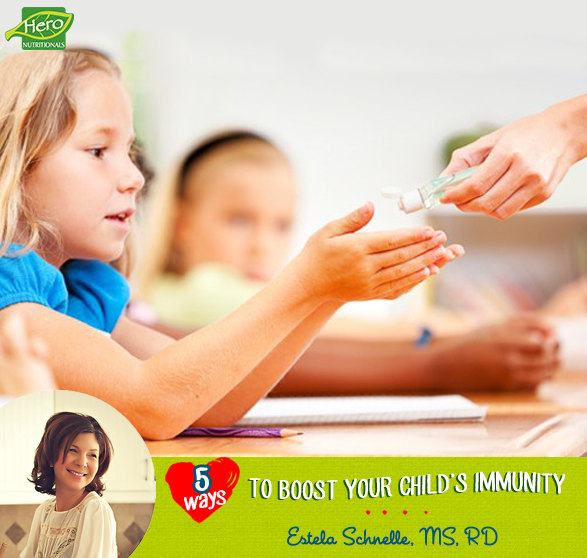 Five Ways to Boost Your Child's Immunity for Back to School
