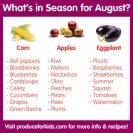 Best Produce Picks for August